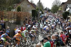 PezCycling News - Fleche Wallonne'13. The beautiful but brutal Mur du Huy - this is where the real action is going to happen on Wednesday and where the winner is normally decided. Pic:CorVos/PezCyclingNews