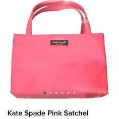 Kate Spade Pink Satchel Kate Spade Pink Satchel kate spade Bags Satchels