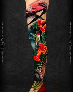 By our Pro Team @larrybeetattoo   #tattoodefender #tattoodefenderteam #tattoodefenderaftercare #tatuati #tatuatori #loveyourskin #tattooartist #popart #ink #tattooworld #inkedup #bestink #tattooworkers #tattoos #color Color Tattoos, Love Your Skin, Tie Dye Skirt, Tattoo Artists, Watercolor Tattoo, Ink, Fashion, Colorful Tattoos, Moda