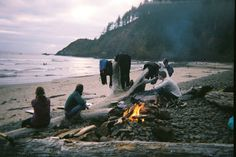 winterfellis:  Evening Fire - Indian Beach, Oregon by M!CHAEL G. on Flickr. #poler #polerstuff #campvibes