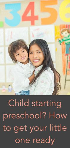 Great advice here for preparing your boy or girl for preschool!