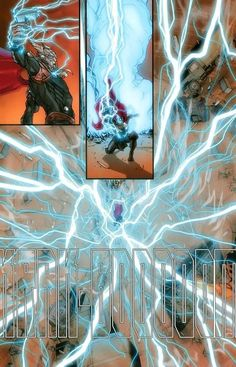 Thor Unleashes the Fury in Punisher: War Zone Marvel Films, Marvel Art, Marvel Heroes, Marvel Avengers, Marvel Comics, Marvel Villains, Marvel Comic Character, Comic Book Characters, Comics Universe