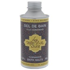Marius Fabre Les Mille Et Un Bains Coriander Bath Salts From France by Marius Fabre. $19.90. Relax In The Bath With This 100% Natural Bath Salt. Exclusive Limited Edition. Imported From France. Natural Coriander Scent. From Exclusive French Soap Maker Since 1900. Marius Fabre Les Mille Et Un Bains Coriander Bath Salts From France 15.87 Oz. Since 1990, a soap manufacturer has made a thousand and one journeys, a thousand and one encounters around the Mediterranean...