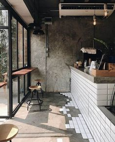 Ideas for kitchen bar table ideas coffee shop Small Coffee Shop, Coffee Shop Design, Interior Design Coffee Shop, Cute Coffee Shop, Coffee Shop Bar, Interior Shop, Kitchen Window Bar, Kitchen Tiles, Kitchen Design