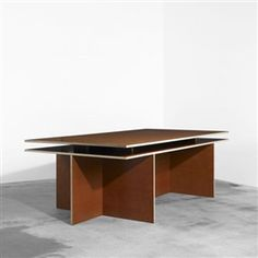 Laminated Plywood Table For Wood And Plywood Furnitureu0027 Donald Judd