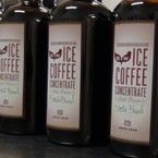 Coffee concentrate for Ice Coffee. Organic FairTrade too! perfect for the cabin...