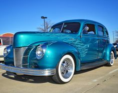 Ford Deluxe at McKinney cars & breakfast held every Saturday. Flawless! … ……