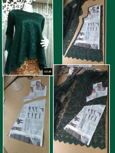 Costura facil Archives - Best Sewing Tips Frock Patterns, Dress Sewing Patterns, Blouse Patterns, Sewing Patterns Free, Sewing Tutorials, Clothing Patterns, Sewing Tips, Kebaya Brokat, Kebaya Dress