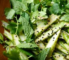 Shaved Asparagus Salad With Ginger and Sesame Recipe - NYT Cooking