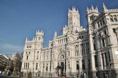 Palacio de Cibeles, actual sede del ayuntamiento de Madrid