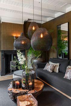 Home Room Design, Home Interior Design, Living Room Designs, Living Room Decor, House Design, African Interior Design, African House, Eclectic Decor, Lofts