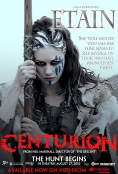 Centurion , starring Michael Fassbender, Dominic West, Olga Kurylenko, Andreas Wisniewski. A splinter group of Roman soldiers fight for their lives behind enemy lines after their legion is decimated in a devastating guerrilla attack. #Action #Adventure #Drama #History #Thriller #War