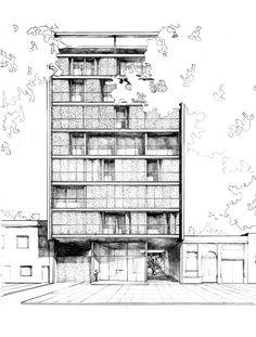 ARQA - E63, Residencia Estudiantes