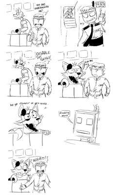 Fnaf comic - lego movie