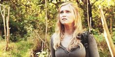 The 100:       'Neighbours' alumna Eliza Taylor makes her mark tonight, leading the cast in the brand new sci-fi drama 'The 100'.    Eliza Taylor plays the lead role of Clark in E4's new sci-fi drama
