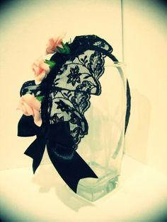 Gothic Rose Lolita Headband