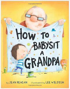 such a cute book for Grandpa for Father's day. grandpa gift ideas