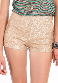 sparkle shorts. for a fun night out .. or my upcoming weekend in vegas!