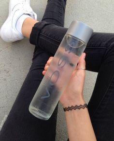 Voss water bottle plastic - Mini