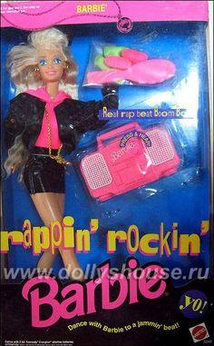 1991 Rappin' Rockin' Barbie