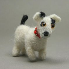 More than 50 Easy Miniature Projects to Make: Miniature Scale Dogs Made Using Simple Needlefelt Techniques