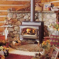 New Wood Burning Fireplace Hearth Stone Walls Ideas Wood Burning Stove Corner, Wood Stove Wall, Wood Stove Surround, Wood Stove Hearth, Hearth Stone, Stove Fireplace, Wood Burner, Corner Stove, Fireplace Ideas