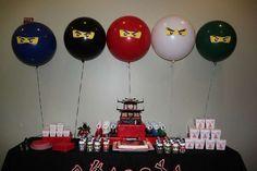 Lego Ninjago, Ninja Birthday Party Ideas   Photo 8 of 20   Catch My Party