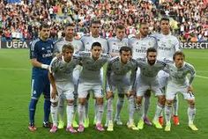 This is a Spanish club soccer team of 2014-2015, it's called Real Madrid CF. I like this team and from this team I like Christino Ronaldo the most, He is the best soccer player right now