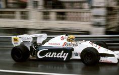 Ayrton Senna, Toleman-Hart TG184, 1984 Monaco GP, Monte Carlo