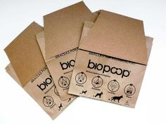Biopoop, la bolsa para recoger las heces de tu mascota de forma ecológica Biodegradable Plastic, Biodegradable Products, Best Dogs, Zero Waste, Seeds, Shape, Home, Brown Bags, Updos