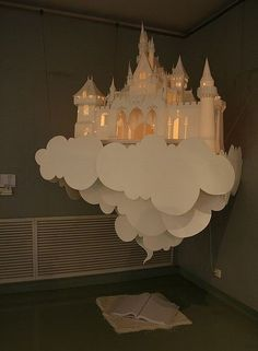 Fairy tale castle in the clouds - a great idea...