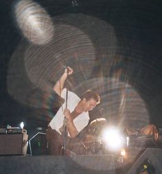Are those my brown pants? You're so sweet to wear them for me! Pearl Jam in Alpine Valley 2003