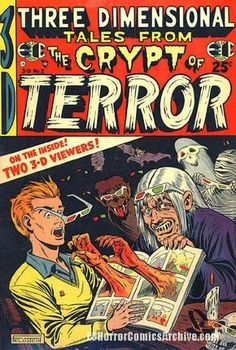 Three Dimensional Tales From the Crypt of Terror (March, 1954)
