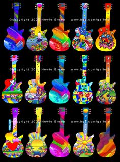 Guitar Hero Pop Art Guitars - Guitar Sculptures Are you an artist? Are you looking for one? Find a business OPPORTUNITY as an artist!!! Join b-uncut, the Art Exchange art.blurgroup.com