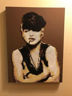 A personal favorite from my Etsy shop https://www.etsy.com/listing/566387746/madonna-justify-my-love-portrait-made