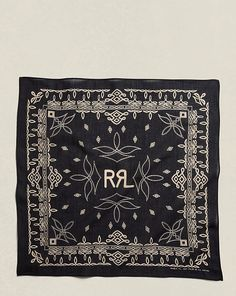 just in case you were looking for a $65. bandana...Boot-Stitched Cotton Bandana - RRL Scarves - RalphLauren.com