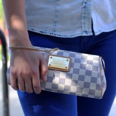 Madly in LOVE with this Louis Vuitton Eva clutch!