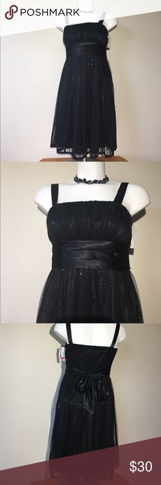 Kathy Roberts sparkly Black Prom Dress 🆕 Kathy Roberts beautiful sparkling black silky prom or homecoming dress. In perfect condition NWT. Kathy Roberts Dresses