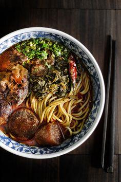 TAIWAN BEEF NOODLE SOUP / NIU ROU MIAN