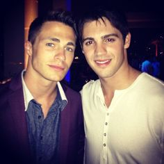 COLTON HAYNES ! WITH MY SECOUND FAVORIZE ACTOR STEN R. MCQUEEN ! THE HOTTIE´S FROM TEEN WOLF !