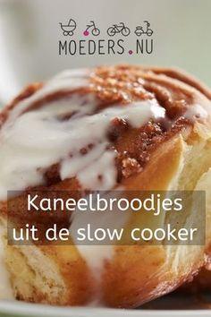 Kaneelbroodjes uit de slowcooker - en meer zoeke slowcooker recepten!