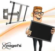Tip from Larry: Mount your thin LED TV on the wall with an ultrathin wall mount, such as the Vogel's THIN 345, to make sure your TV is mounted to the wall as close as possible. More info: https://www.youtube.com/watch?v=0_rM5XJtF3M&index=13&list=PL4657769A72F99B59