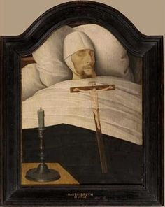 """nends: """" Man on his death bed - Barthel Bruyn the Younger """" why do i feel drawn to this"""