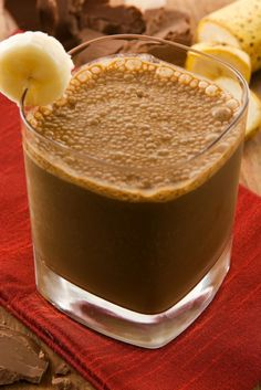 Banana Chocolate Smoothie - Busy But Healthy
