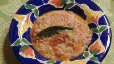 Arroz de Tomate Envinagrado, como é carolino fica cremoso e delicioso! http://grafe-e-faca.com/pt/receitas/arroz-de-tomate-envinagrado/