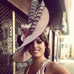 #cherubina #tocado #sombrero #invitada #headpiece #hat #wedding