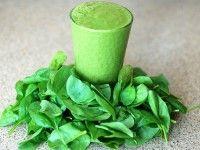 Los batidos verdes como remedio para adelgazar