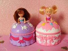 Cake dolls.. pretty sure i had one