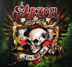 Saxon - live to rock - Music  Entertainment Background Wallpapers