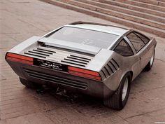 Italdesign IGUANA, 1969, based on Alfa Romeo 33